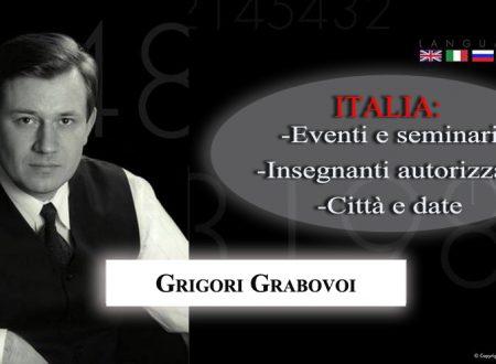 Grigori Grabovoi: Eventi e Seminari in Italia
